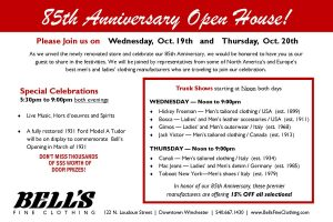 Join us for the 85th Anniversary Open House!